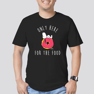 Only Here For The Food Men's Fitted T-Shirt (dark)