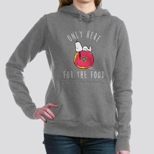 Only Here For The Food Women's Hooded Sweatshirt