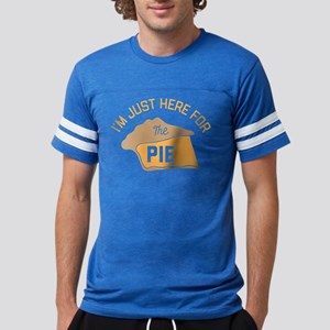 I'm Just Here For The Pie Mens Football Shirt
