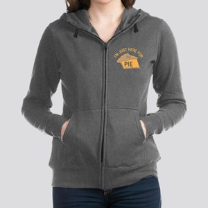I'm Just Here For The Pie Women's Zip Hoodie