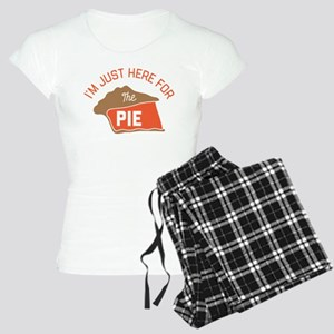 I'm Just Here For The Pie Women's Light Pajamas
