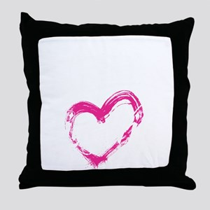high voltage line wife front black sh Throw Pillow