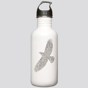 crow gray Stainless Water Bottle 1.0L