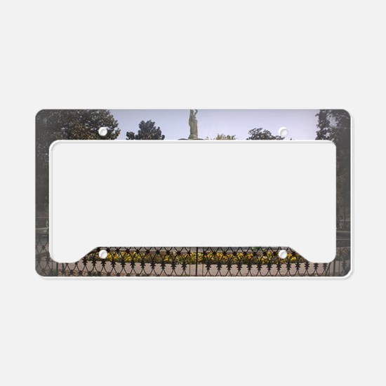 Forsyth Park Fountain License Plate Holder