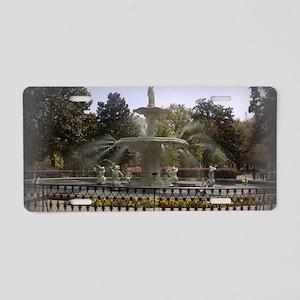 Forsyth Park Aluminum License Plate