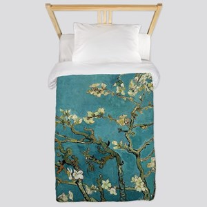 Almond Branches in Bloom 2sc Twin Duvet