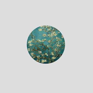 Almond Branches in Bloom 2sc Mini Button