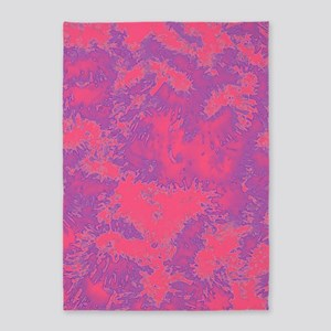 Hot Pink 5'x7'Area Rug