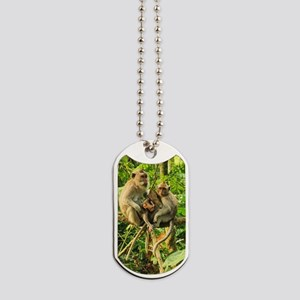 Togetherness on a Branch Dog Tags