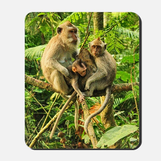 Togetherness on a Branch Mousepad