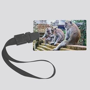 Hanging Out Large Luggage Tag