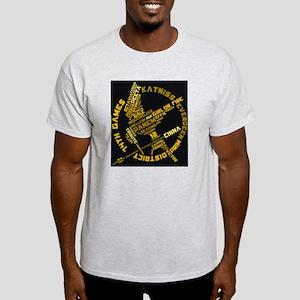 Blk Mockingword Light T-Shirt