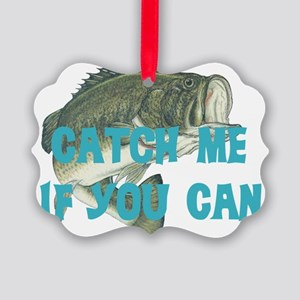 catch me - bass Picture Ornament