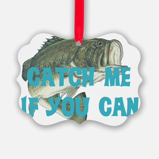 catch me - bass Ornament