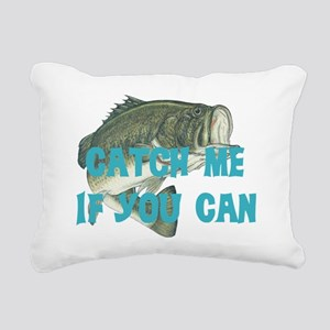 catch me - bass Rectangular Canvas Pillow
