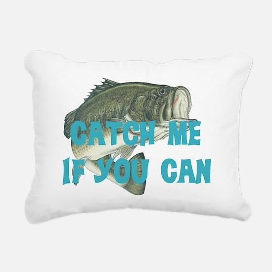 catch me - bass Rectangular Canvas Pillow