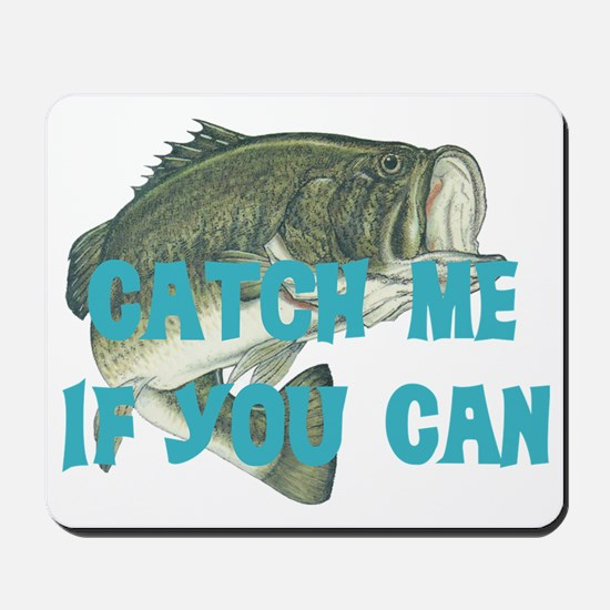 catch me - bass Mousepad