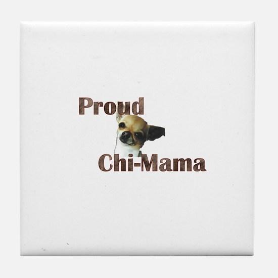 Chi-Mama Tile Coaster