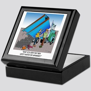 8153_safety_cartoon Keepsake Box