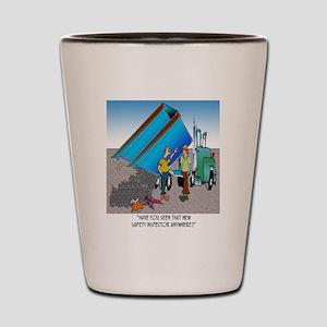 8153_safety_cartoon Shot Glass
