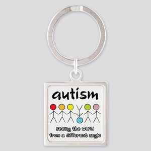 autism angle Square Keychain