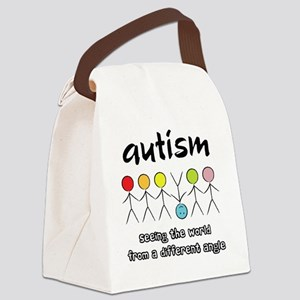 autism angle Canvas Lunch Bag