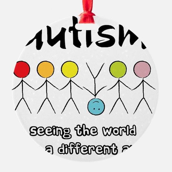 autism angle Ornament