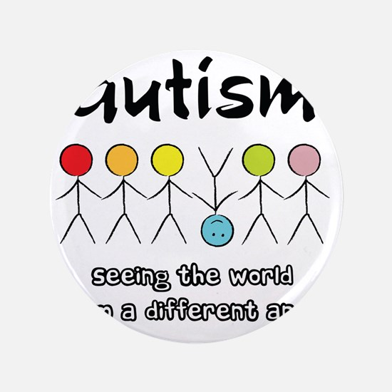 "autism angle 3.5"" Button"