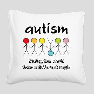 autism angle Square Canvas Pillow