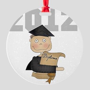 2012greyboy Round Ornament
