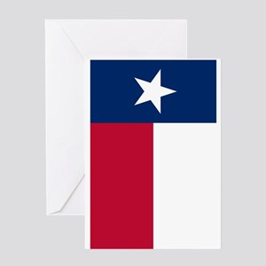 Texas Flag Greeting Cards