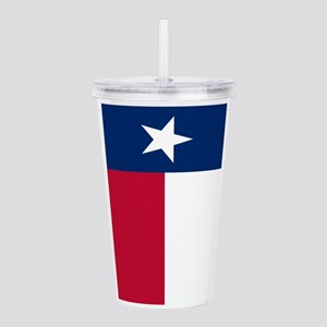 Texas Flag Acrylic Double-wall Tumbler