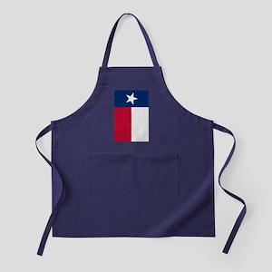 Texas Flag Apron (dark)