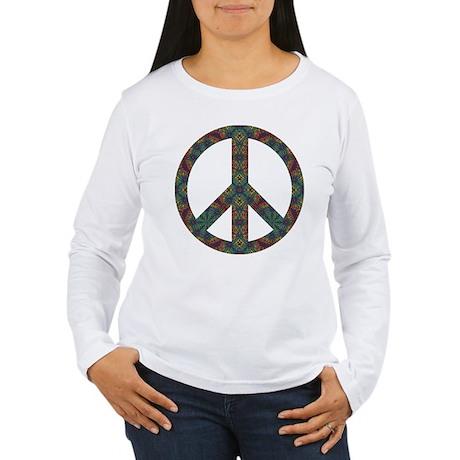 Peace Sign Women's Long Sleeve T-Shirt