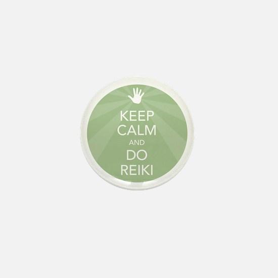 SHIRT KEEP CALM GREEN Mini Button