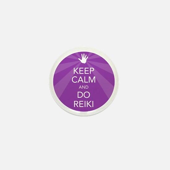 SHIRT KEEP CALM PURPLE Mini Button