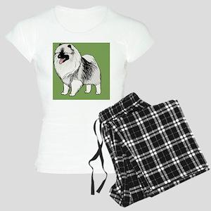 keeshondlicense Women's Light Pajamas