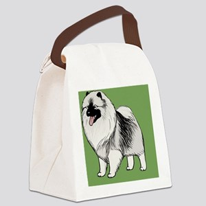 keeshondlicense Canvas Lunch Bag