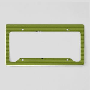 keeshondclutch License Plate Holder