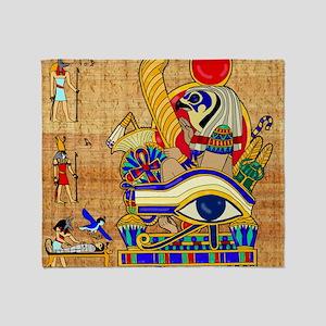 EGYPTIAN-THROW-PILLOW Throw Blanket