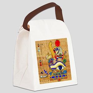 EGYPTIAN-THROW-PILLOW Canvas Lunch Bag