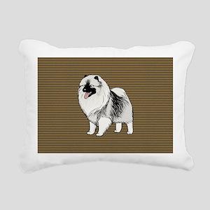 keeshondbigbag Rectangular Canvas Pillow