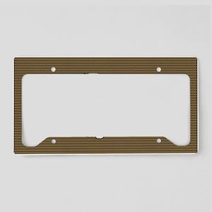 keeshondbigbag License Plate Holder
