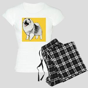 keeshondcoinpurse Women's Light Pajamas