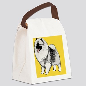 keeshondcoinpurse Canvas Lunch Bag
