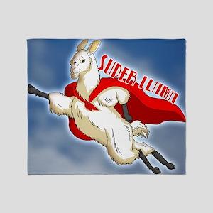 SUPER-LLAMA-THROW-PILLOW Throw Blanket
