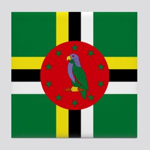 The Commonwealth of Dominica Tile Coaster