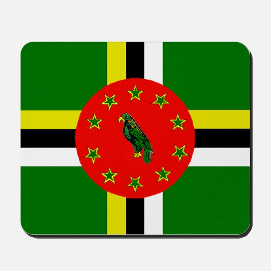 The Commonwealth of Dominica Mousepad