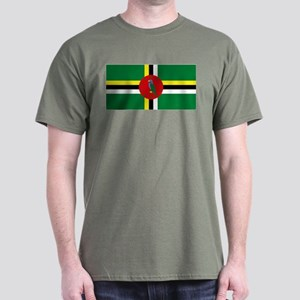The Commonwealth of Dominica Dark T-Shirt