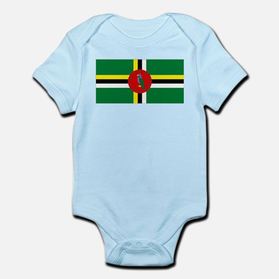 The Commonwealth of Dominica Infant Bodysuit